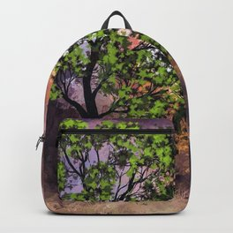 The Deer at the Tree (Color) Backpack