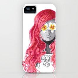 Flower Girl 5 iPhone Case