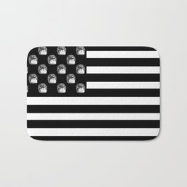 US Minifigure Flag - Horizontal Bath Mat