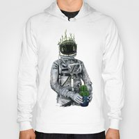 cacti Hoodies featuring Cacti | Spaceman No:1 by FAMOUS WHEN DEAD