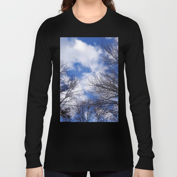 Reaching for the clouds Long Sleeve T-shirt