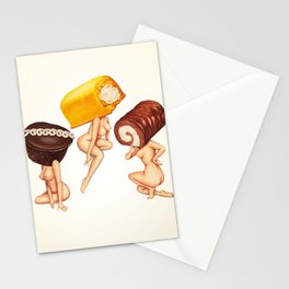 Hostess Cake Girls Stationery Cards