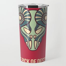the pick of destiny Travel Mug