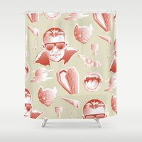Vampcation Shower Curtain