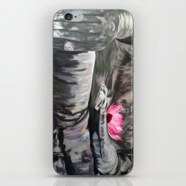 I love the smell of my palm in the morning-Apocalypse now. Homage to F.Ford Coppola iPhone Skin