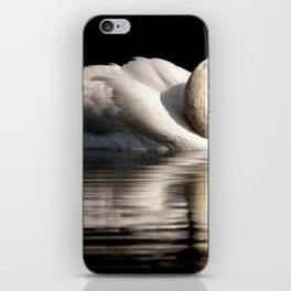 White Swan iPhone Skin