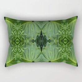 Leafy Four Rectangular Pillow
