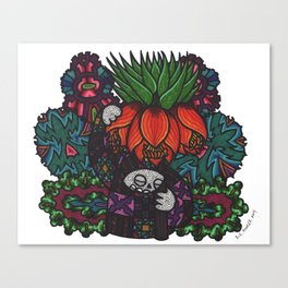 Majesty (Botanical Bliss) Canvas Print