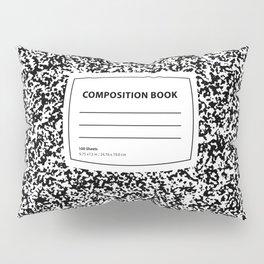 Composition Book Pillow Sham