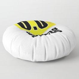 0.0 Running Sucks Floor Pillow