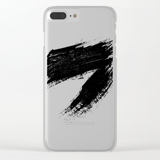 ANGER Clear iPhone Case