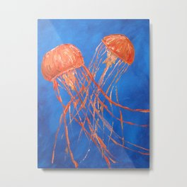 Dance of the Sea Metal Print