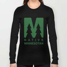 Native Minnesotan Graphic Long Sleeve T-shirt