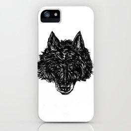 Wolf's Head iPhone Case