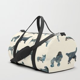 Dogs Pattern Duffle Bag