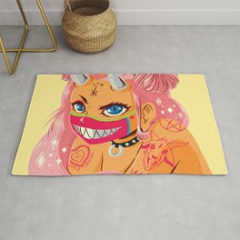 Spark in Hell Rug