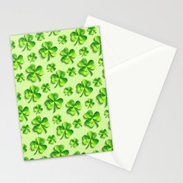 Happy St. Patrick's Day Pattern | Ireland Luck Stationery Cards