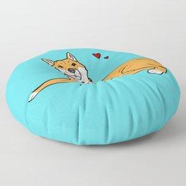 Shiba Inu Love Floor Pillow