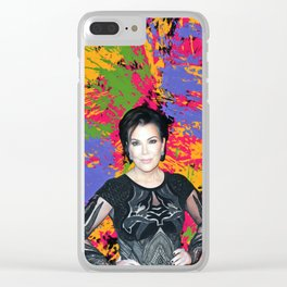 Kardashians - Celebrity Art Clear iPhone Case