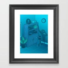 The power of imagination Framed Art Print