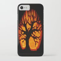 halloween iPhone & iPod Cases featuring HalloWeen by 2sweet4words Designs