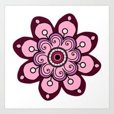 Flower 07 Art Print
