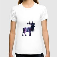 elk T-shirts featuring ELK  by Nabeel