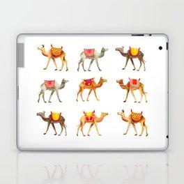 Cute watercolor camels Laptop & iPad Skin