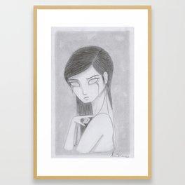 Ethereal Series: Gossamer Girl 2 Framed Art Print