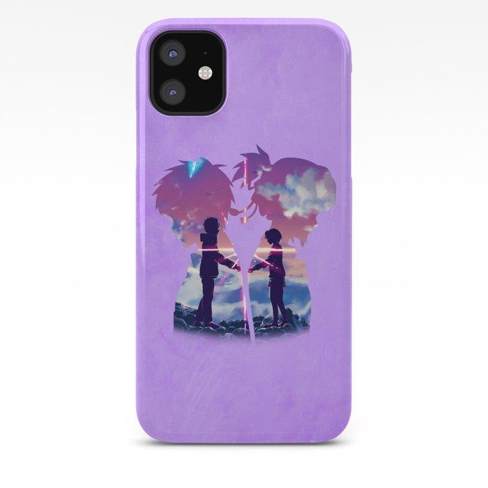 Kimi No Na Wa Your Name Iphone Case By Mackubex