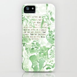 """""""Conquest of the Useless"""" by Werner Herzog Print (v. 2) iPhone Case"""