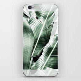 Banana leaf akin iPhone Skin