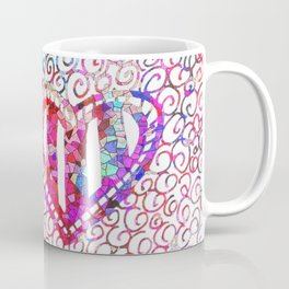 Colliding Hearts Coffee Mug