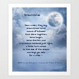 Dreamtime   Pamala Ballingham Art Print