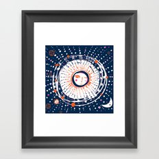 Sol Azul Framed Art Print