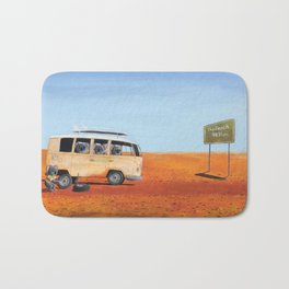 Going to the Beach Bath Mat