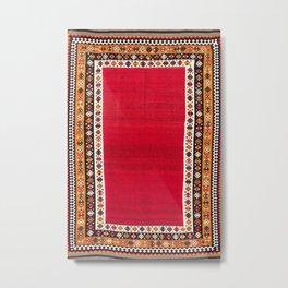 Qashqa'i Fars Southwest Persian Kilim Print Metal Print