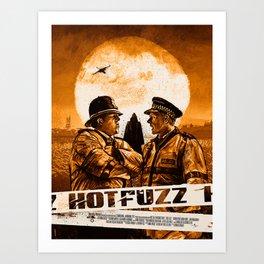 Hot Fuzz Art Print