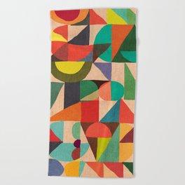 Color Field Beach Towel