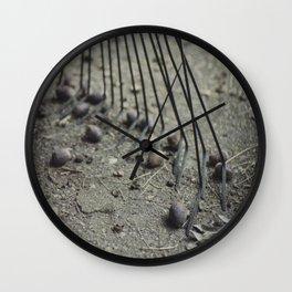 Fall Details 3 Wall Clock