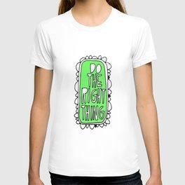Rule #1: Green T-shirt