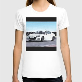 TOYOTA GT86 AUTOMOBILE DRIFTING ON SUNNY TRACK T-shirt