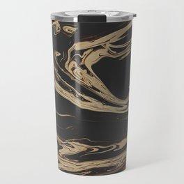 Ruin - Dark Suminagashi Marble Series: 06 Travel Mug
