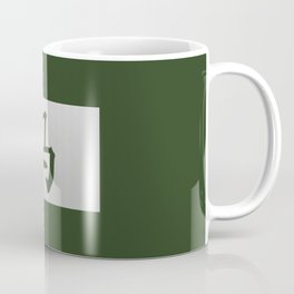 Chinese zodiac sign Horse green Coffee Mug
