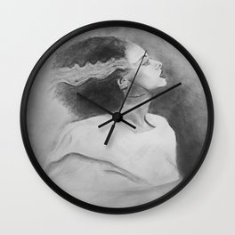 Bride Wall Clock