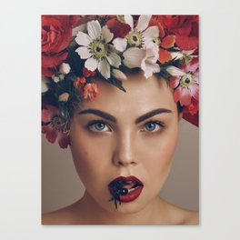 flower-girl ... Canvas Print