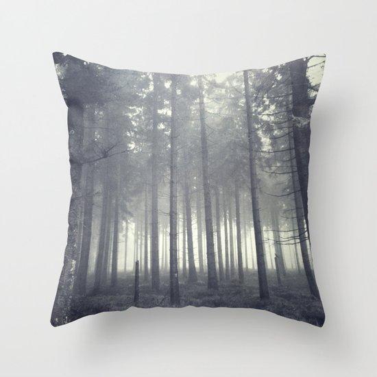 n ever mind Throw Pillow
