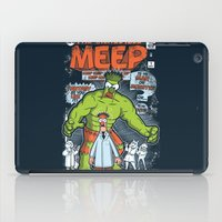 muppet iPad Cases featuring Incredible Meep by Hoborobo