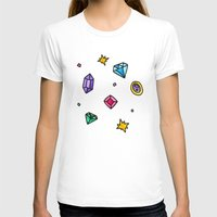 gem T-shirts featuring Gem by Madi Moon