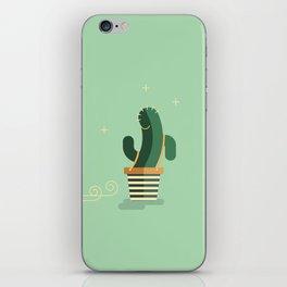 CACTUS BAND / The moon-walk iPhone Skin